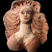 "Original ""Abbott Pattison (1916-1999)"" Terra Cotta Sculpture"