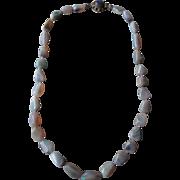 Beautiful Australian Opal Nugget Necklace