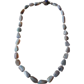 Beautiful Australian Opal Nugget Necklace