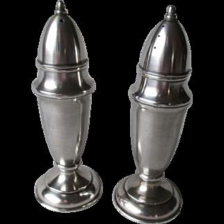 Beautiful 950 Sterling Silver Salt & Pepper Shakers