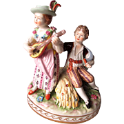 "Beautiful ""Carl Thieme"" Dresden Figurine"