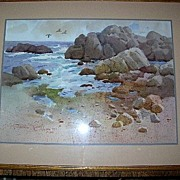 Fabulous Original Watercolor by Listed Artist - Joesph Bohler