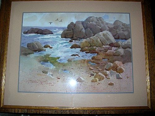 Fabulous Original Watercolor by Listed Artist - Joesph Bohler