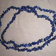 Fabulous Lapis Nugget Necklace