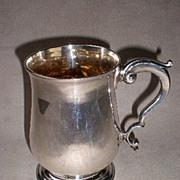 "Magnificent 1780 ""Hester Bateman"" Sterling Silver Tankard"