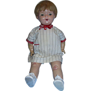 """Precious Large Chunky 25""""  1930's Composition and Cloth MAMA Doll!"""