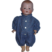 AM Germany 351 Bisque Head Baby on Jointed  Composition Body!