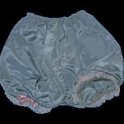Vintage 1950's Sweet Sue Aqua Taffeta Panty Panties!