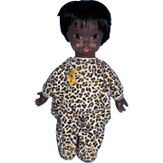 "1969 Shindana 15"" DEE BEE Operation Bootstrap Black African American Doll with Numbered Tag!"
