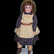 """Antique 24"""" German Heinrich Handwerck and Simon & Halbig Bisque Child Doll!"""