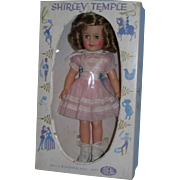 """1950's Ideal Shirley Temple 15"""" Vinyl Doll Tagged All Original in Original Box!"""