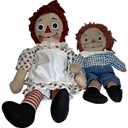 Vintage Raggedy Ann and Andy!