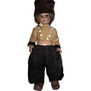 """RARE 26"""" Dutch Boy All Original with PIPE Made in Italy needing TLC!"""