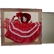 Nancy Ann Storybook Bisque Doll 198 For December Just A Dear Mint in Box!