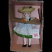 "Madame Alexander 12"" Heidi #1580 Doll Pristine Mint in Box!"