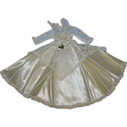 """Stunning 1950's American Character Sweet Sue Ivory Bridal Gown for the 14"""" doll!"""