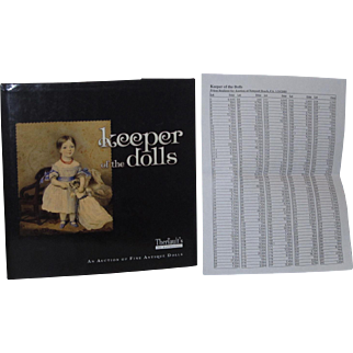 Theriault's Keeper of the Dolls With Prices Realized NEW!