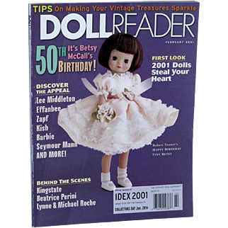 Doll Reader February 2001 It's Betsy McCall's 50th Birthday!