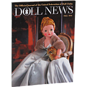 Doll News Fall 2016 with Article and Fabulous Photos of Madame Alexander CISSY Excellent!