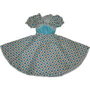 Gorgeous 1950's Factory Fashion Dress for the hard to fit larger Fashion Dolls MINT!