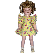 1930's Ideal Composition Shirley Temple Doll!
