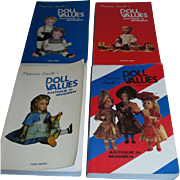 Set of 4 Antique to Modern Doll Value Books by Patricia Smith!