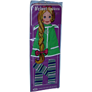 Ideal Grohair Crissy VELVET The Kelly Coat Mint and NRFP!