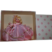 Stunning 1940's Nancy Ann Storybook Tuesday's Child is Full of Grace Mint in Box.