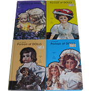 4 Volume Set of Portrait of Dolls by Carol L. Jacobsen