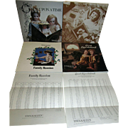 4 Early Theriault's Auctions Catalogs from 1984 and 1985, 2 with Prices Realized Sheets!