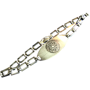 Vintage Walther League Lutheran Youth Group Sterling Silver Bracelet