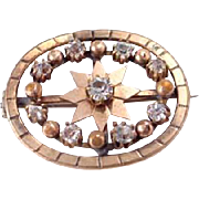 Late Victorian Antique Brooch circa 1900