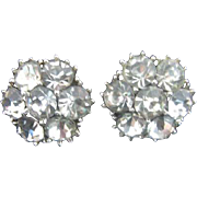 Ora Clear Rhinestone Earrings
