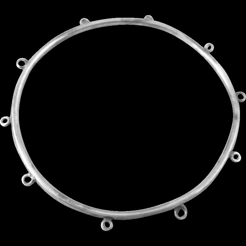 Victorian Sterling Silver Bangle Charm Bracelet