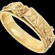 Victorian Gold Filled Bracelet