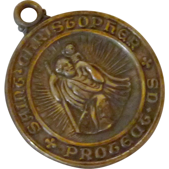 St Christopher Bishop Choi Military Medal