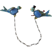 """Bluebird of Happiness""  Art Deco Era Jelly Belly"