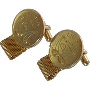 Astrology Libra Sign Cufflinks Cuff Links Wrap Arounds