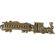 Pioneer Steam Locomotive Train Tie Bar Clip