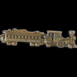 Pioneer Steam Locomotive Train Tie Bar Clip