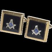 Masonic Fraternal Order Cuff Links Cufflinks
