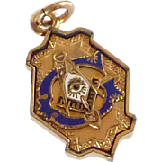 Masonic Grand Lodge Gold Filled Fob