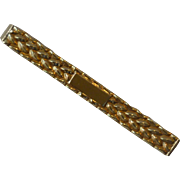 Gold Filled Nanasi Tie Bar