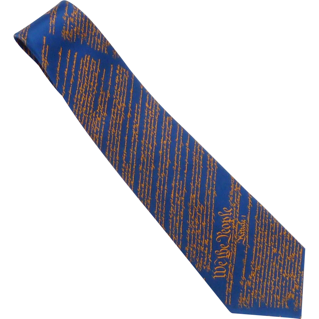 US Capitol Historical Society Constitutional Tie