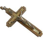 Vintage Heavy Metal Crucifix Pendant