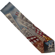 "Save the Children ""Daydreaming"" Silk Tie"
