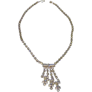1940-1950 Diamond Rhinestone Necklace