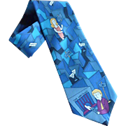 """Day Tripper"" Beatle Silk Dress Tie"