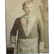 A Freemason's Family Memorial Photo Montage spanning 30 to 40 years (c1890-1925+)