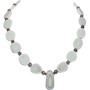Native American Sliced Bone Necklace